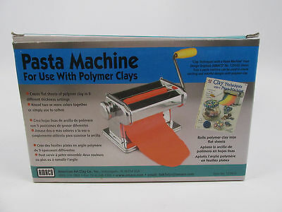 Amaco Craft Pasta Machine For Use with Polymer Clays & Soft Metal Sheets
