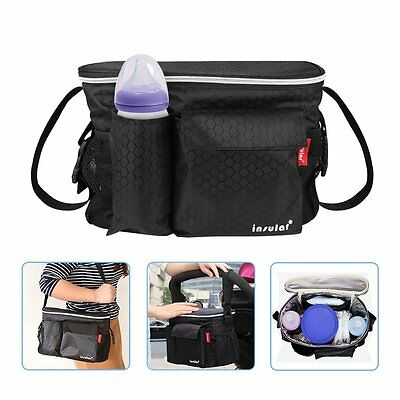 Accmor Insulation Stroller Organizer for Smart Moms, Universal Baby Stroller and