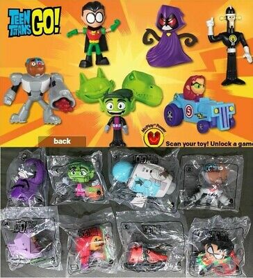 McDonald's 2019 & 2017 TEEN TITANS GO! - PICK YOUR TOY- BUY 3 GET 1 FREE