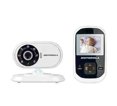 Motorola New Dual Mode, Infant Baby Monitor With Digital Video Parent Monitor