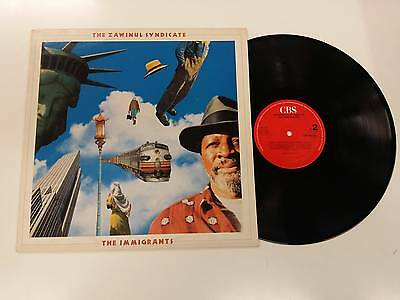 The Zawinul Syndicate The Immigrants Lp 1988