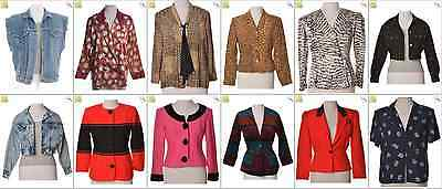 "JOB LOT OF 22 VINTAGE WOMEN""S JACKETS - Mix of Era's, styles and sizes (20919)"