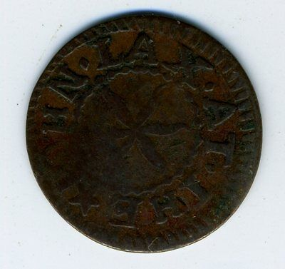 1659 Coventry Farthing Token John Lax At The Star