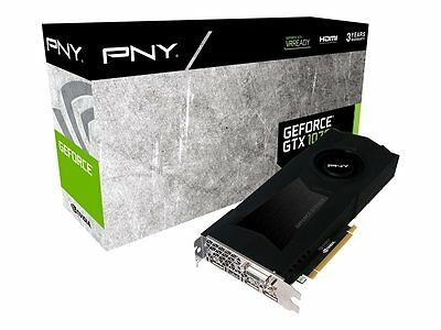 PNY GeForce GTX 1070 8GB Graphics Card (Brand New Sealed In Box)