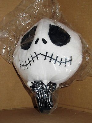 Nightmare Before Christmas Jack Skellington deformed head keyring plush - MIB