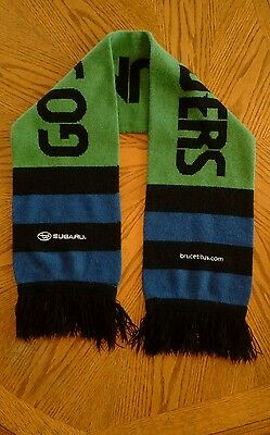 """Seattle Sounders FC Scarf """"Go Sounders"""""""