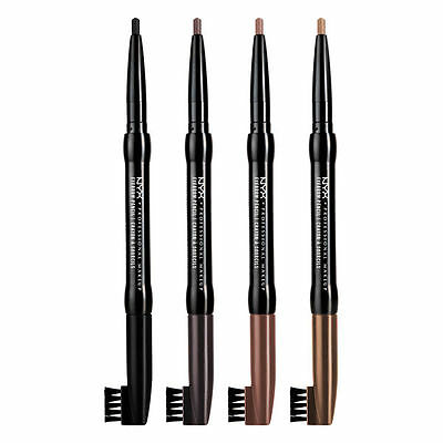 NYX Eyebrow Pencil - Black / Light Brown / Dark Brown / Taupe