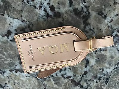 Authentic LOUIS VUITTON Classic Monogram Bandouliere 45 55 Keepall Luggage Tag