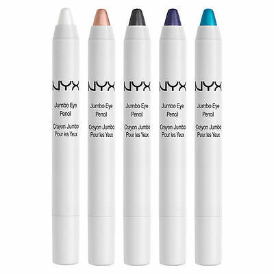 NYX Jumbo Eye Pencil - Black / Dark Brown / Cashmere