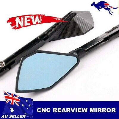 For Ducati Monster 696 796 821 1100 1200 Motorcycle CNC Rearview Side Mirror AU