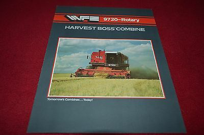 White Tractor 9720 Rotary Combine Dealers Brochure YABE11