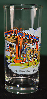 Gulf Oil Historical Events, World War I Years Collectible Glass