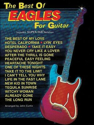 The Best of Eagles for Guitar - Guitar Music Book with Tab