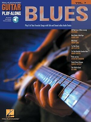 Guitar Play-Along Blues Music Book with CD - Volume 7