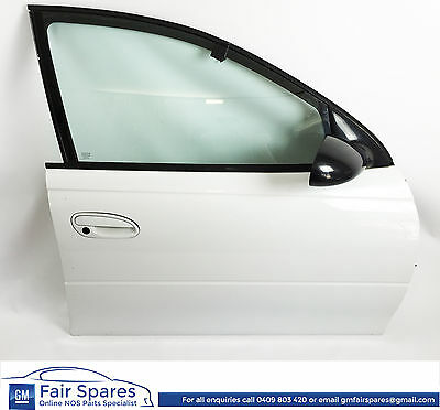 Holden Commodore VT VX VU VY VZ RHF Right Hand Front Drivers Door Heron White