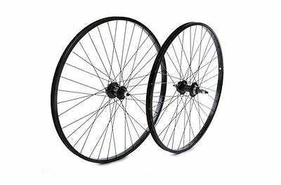 Tru-build Wheels 26 x 1.75 Rear Wheel Alloy hub Black screw on Black 26 inch