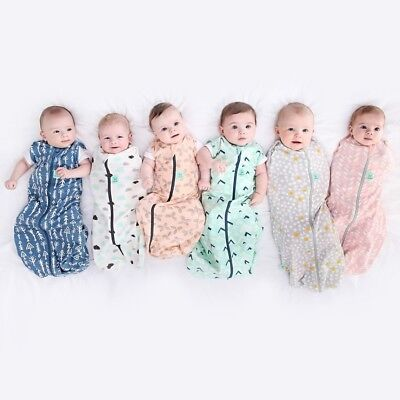ergoPouch ergoCocoon 0.2 TOG  Baby Swaddle Wrap  zip up many styles + FREE POST