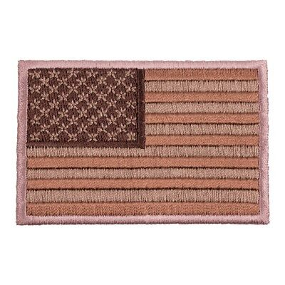 American Flag Desert Tan Patch, U.S. Flag Patches