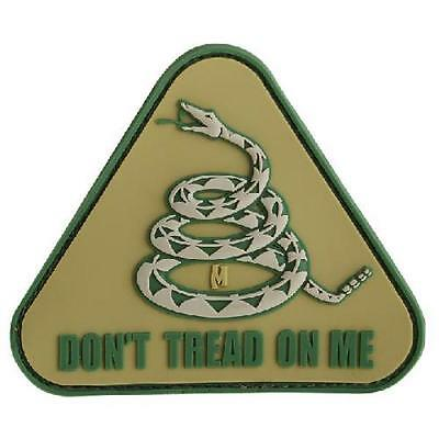 Olive Drab Green Don'T Tread On Me Patch - Pvc Patch:Dtoma - Ideal F/Uniforms