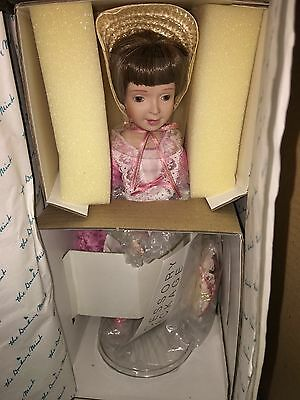 The Danbury Mint Mary, Mary, Quite Contrary Doll W/Box.     580-S