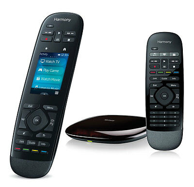 Logitech Harmony Ultimate - Touch Rf Remote + Hub + Extra Rf Remote - Brand New!