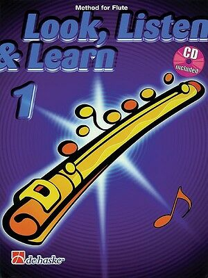 Look, Listen & Learn 1 - Method for Flute - Flute Music Book with CD