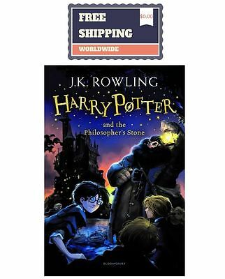 Harry Potter and the Philosopher's Stone: J.K. Rowling (Paperback English Book)