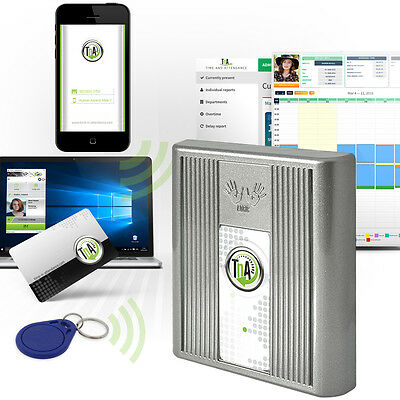 time and attendance system Desktop software, check-in with NFC Android Phone xRC