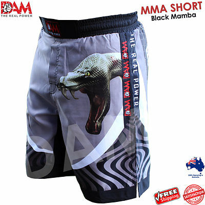 DAM MMA Fight Shorts Camouflage UFC Cage Fight MuayThai Boxing Sublimated NEW
