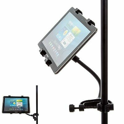 """Music Microphone Clamp Mount + Adjustable Holder for Apple IPad Air 2 / Pro 9.7"""""""