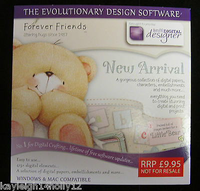 Forever Friends~New Arrival~Digital Designer~Papers~Characters~Embellishments~