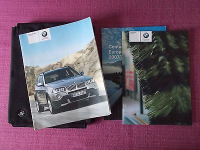 Bmw X3 (2006 - 2010) Owners Manual - Owners Guide - Owners Handbook. (Bm 719)