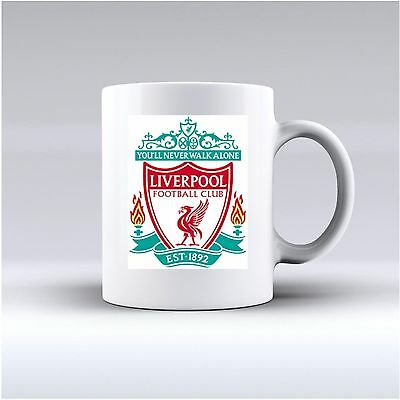 50 Liverpool Football club mug 11oz personalise gift present valentines day