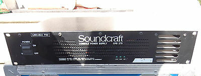 Soundcraft CPS 275 POWER SUPPLY / ALIMENTATION CONSOLE MIXAGE