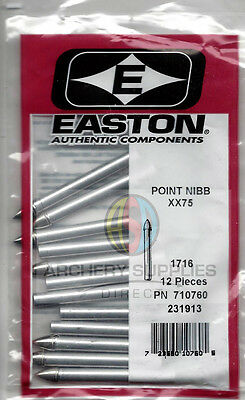 Easton Point Nibb XX75 1716 Archery Arrow Tips x 12