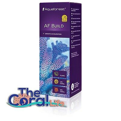 Aquaforest Af Build 50Ml - Coral B - For Coral Growth Acceleration