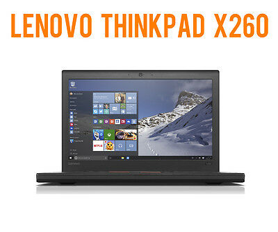 "NOTEBOOK Lenovo ThinkPad X260 - 12.5"", i5-6300U 2,40GHz, 240GB SSD, 16GB DDR4"