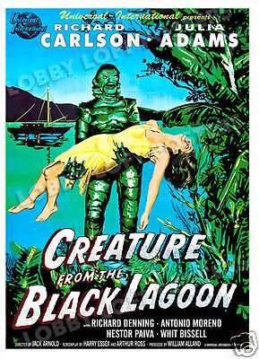 Creature From The Black Lagoon Lobby Card Poster Os/sp 1954