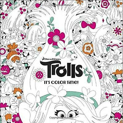 FREE 2 DAY SHIPPING: It's Color Time! (DreamWorks Trolls) (Adult Coloring Book)