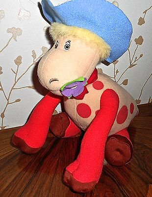 Talking Ermintrude The Cow Soft Toy From Tv Series Magic Roundabout Vgc