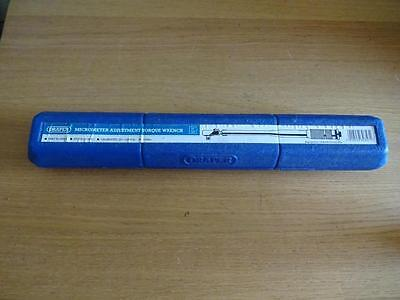 Draper Micrometer Adjustment Torque Wrench 1/2 ins square with case