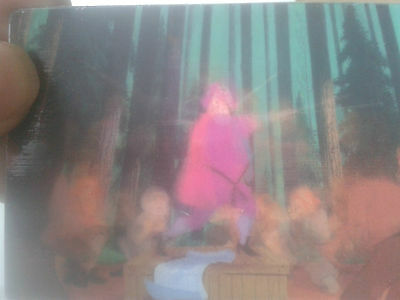 Pocahontas Moving Animation Lenticular Motion Card # 1 Of 2
