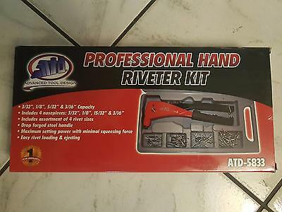 ATD Professional Hand Riveter Kit 5833