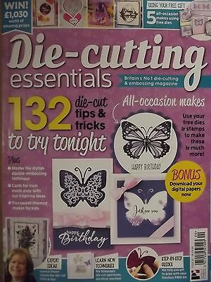 Die Cutting Essentials Magazine February 2017 Issue 20 - Butterfly Wishes Set