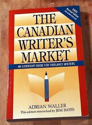The Canadian Writers Market, Adrian Waller, Jem Bates, 1992, Tenth Edition