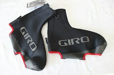 New Giro Proof Winter Cycling Shoe Covers Overshoe Medium Black Neoprene 39-42