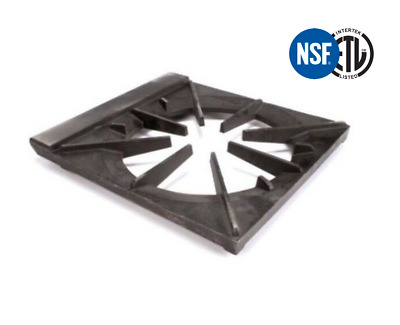 """Bakers Pride  STOCK POT GRATE 18"""" x 21"""" OEM Part Number 38010 Cast Iron"""