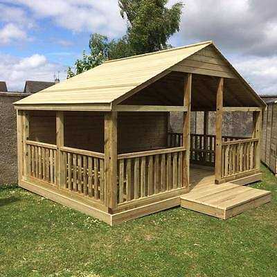 Wooden Outdoor Gazebo 3m, BBQ,Treated,Outdoor, Garden, Summer House, Office,10ft