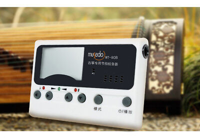 Guzheng Chromatic Tuner, Metronome, Tune Setting 古箏調音器 -- 古筝调音器