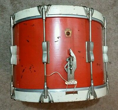 Ludwig snare drum /vintage / WFL Ludwig Marching Snare Drum,  1950s.